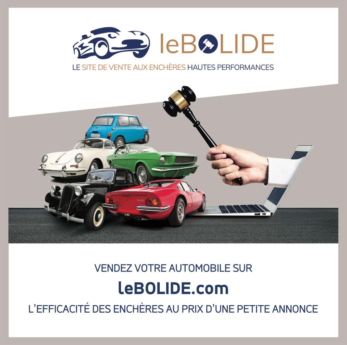 Vendez votre automobilie sur LeBolide.com ! L'efficacité des enchères au prix d'une annonce